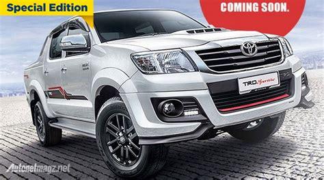 Seal Roda Belakang Toyota Fortuner Hilux Cabin toyota hilux trd sportivo akan segera hadir autonetmagz