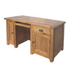 Oak Computer Desk Reclaimed Oak Computer Desk Including Free Delivery 908 553 Pine Solutions