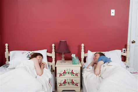 sleeping in separate beds sleep study reveals that 30 40 percent of couples sleep apart