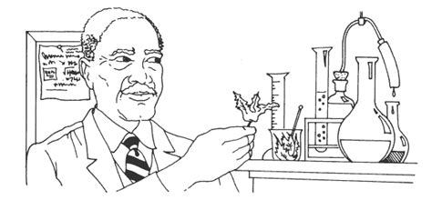 Free Coloring Pages Of Adult Farmers George Washington Carver Coloring Page