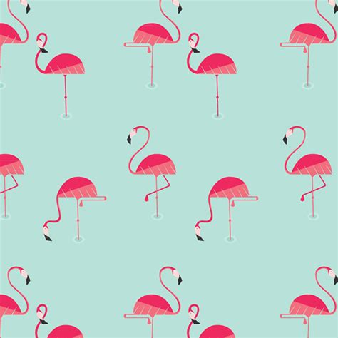 flamingo template flamingo pattern on behance