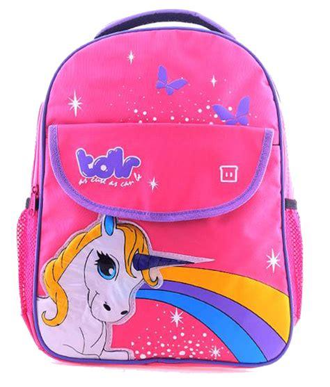 Sho Kuda Warna Pink rainbow unicorn pink bag kicau kecil