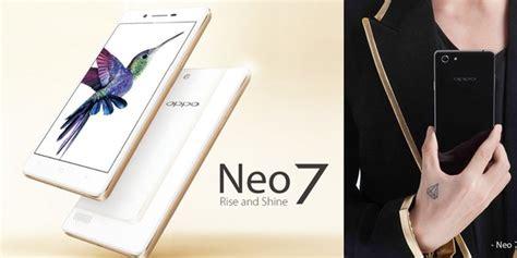 Hp Oppo Neo 7 Di Jakarta oppo neo 7 diluncurkan di indonesia inilah kelebihan dan