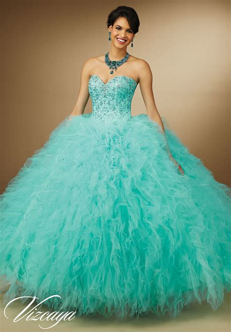 vestidos de quincea 241 era color aqua vestidos de noche