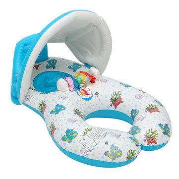 baby pool seat with shade ipree baby swimming ring swim pool