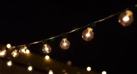 light on a string let there be light string lights redeem your ground