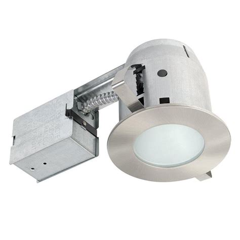 globe electric recessed lighting installation shop globe electric brushed nickel remodel and new