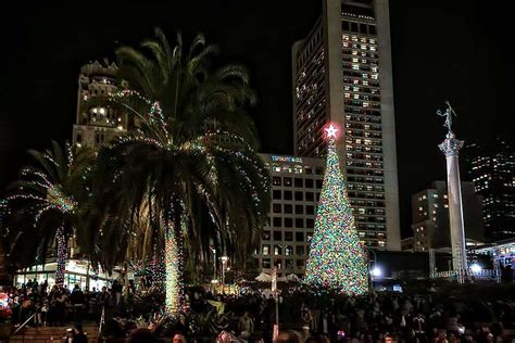 union square christmas tree lighting 2017 union square