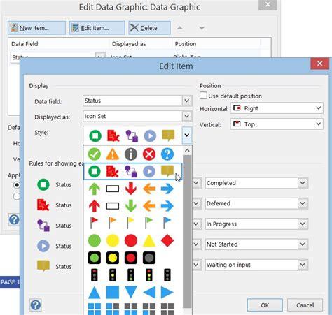 visio graphics custom data graphics in visio best free home design