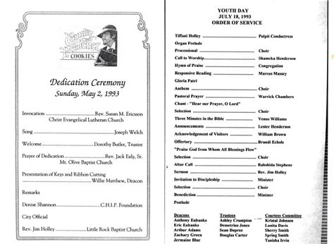 black history program template prayer breakfast program black church 2017 2018 best