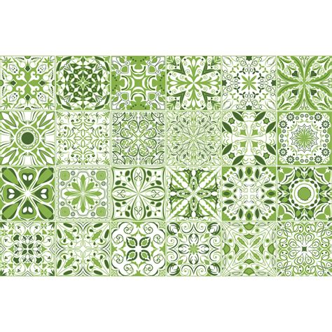 Carreaux De Ciment Vert by 24 Stickers Carreaux De Ciment Vert Lumi 232 Re Et