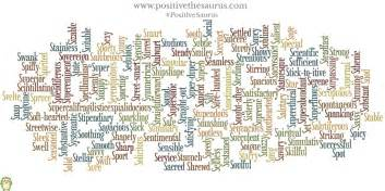 positive thesaurus positive words for you sublime list