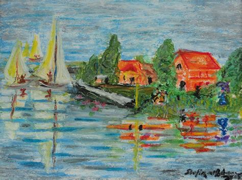 boat in river drawing reflection of boat sails on river drawing by shafiq ur rehman