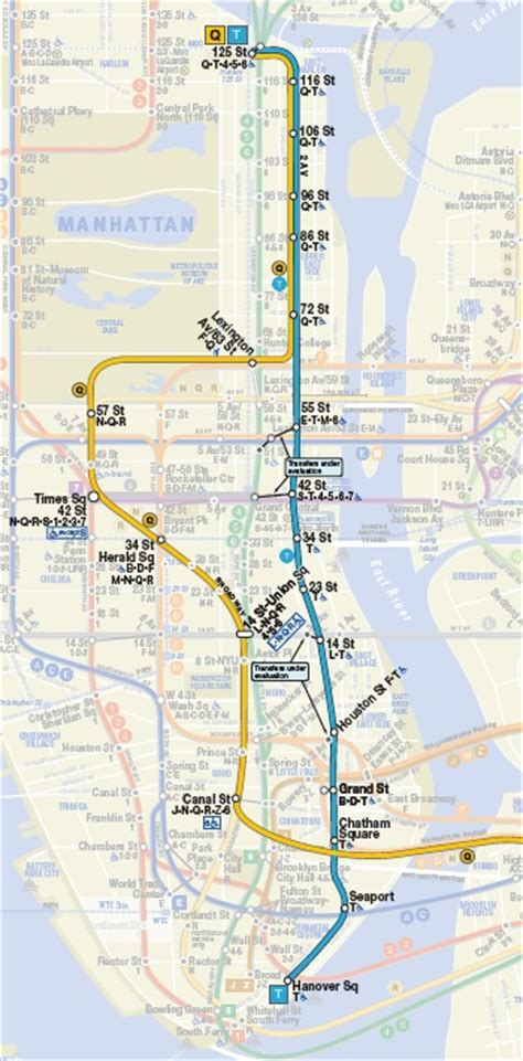 2nd avenue subway map weekly map time travel with vintage nyc subway maps the