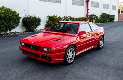 Maserati Shamal For Sale by 1992 Maserati Shamal For Sale 2111852 Hemmings Motor News