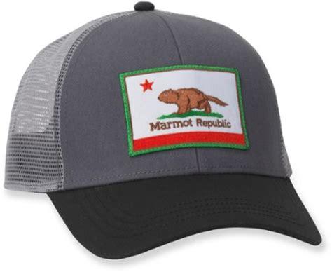 marmot republic trucker hat s rei