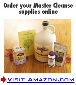 Juice Master Detox Side Effects by Master Cleanse Dangers