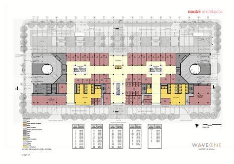 100 Floors Level 38 Tower - wave one floor plan