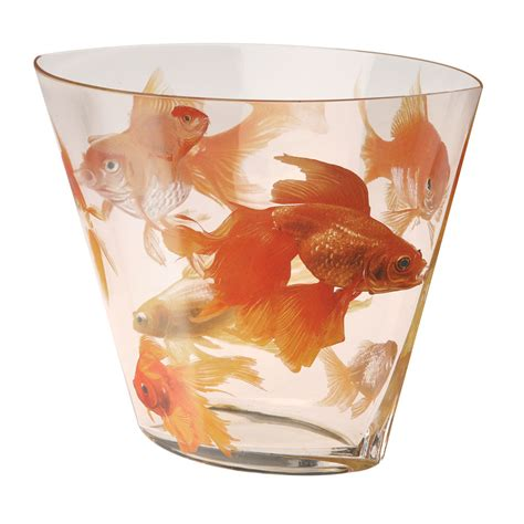Koi Vase by Lucky Japanese Koi Blown Glass Flower Vase Prosperity