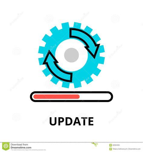 in update update icon concept vector cartoondealer