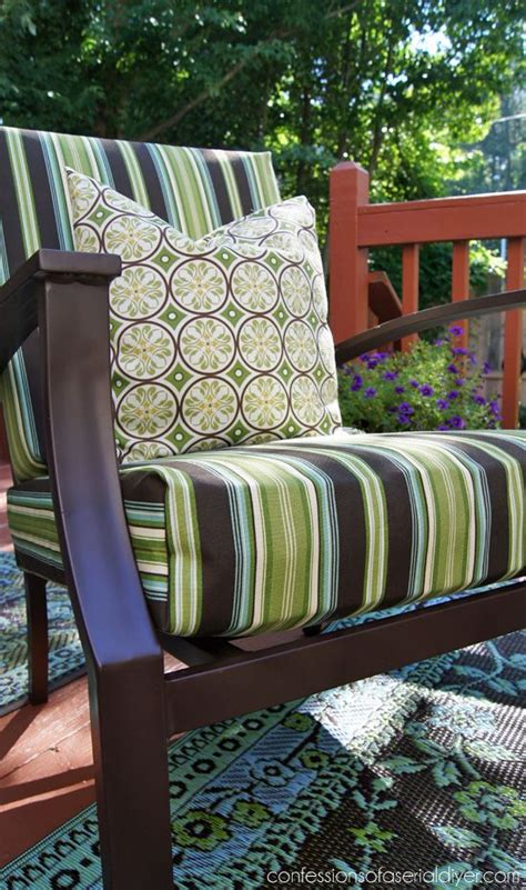 reupholster patio furniture cushions 25 best ideas about outdoor cushions on