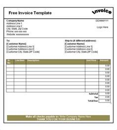 fill in invoice template best photos of blank invoice to use blank invoice forms