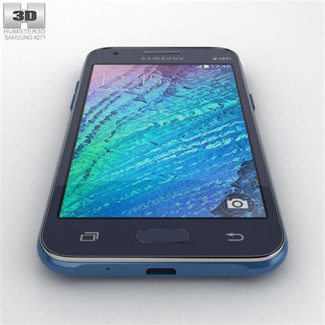 Samsung J1 Blue samsung galaxy j1 blue 3d model humster3d