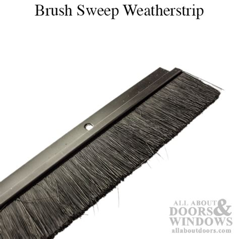 Door Sweep Brush by Brush Sweep Weatherstrip