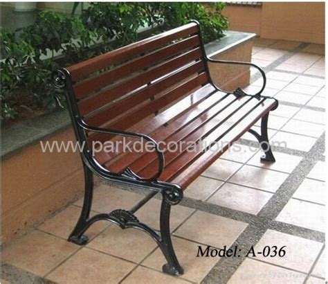 cast iron garden bench a 036 yuepin china