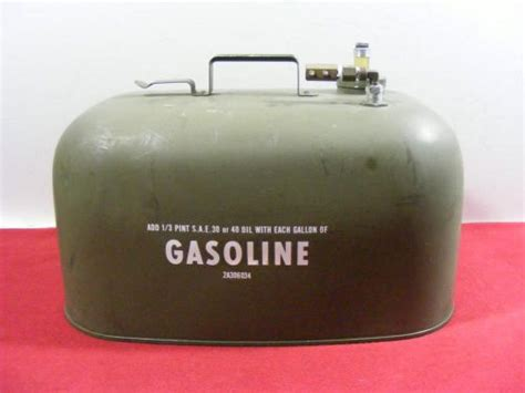 boat gas tank napa sell vtg boat gas tank can army military green 2a306034