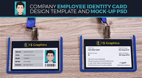 employee identity card template 30 extremely premium graphic files just only 1 each