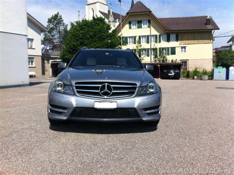 Auto Folierung Mercedes C Klasse by Grill Matt C Palladiumsilber Avantgarde Folierung