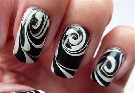 black nail art designs 25 unique black and white nail art designs 2015