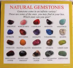gemstones by color gemstones selection box of 25 sles images frompo