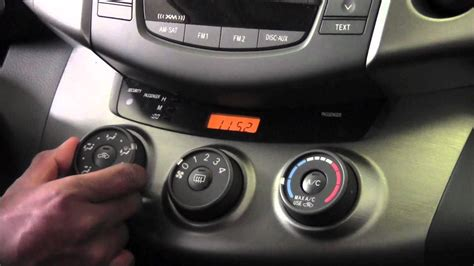 auto air conditioning repair 2010 toyota rav4 on board diagnostic system 2011 toyota rav4 manual climate controls how to by toyota city minneapolis mn youtube