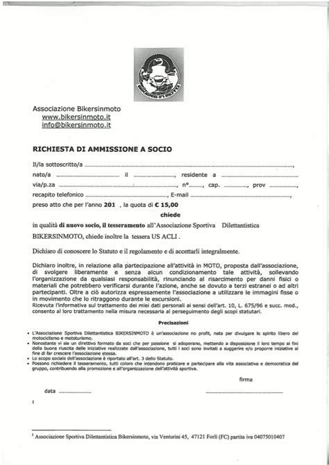 modello lettere di dimissioni lettera di dimissioni da associazione sportiva