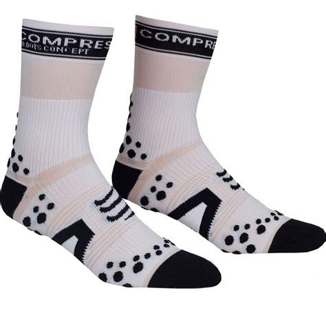 Compressport Pro Racing Socks V3 Bike Black wiggle compressport pro racing socks bike high running socks
