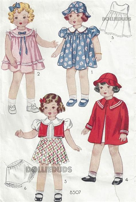 vintage 22 quot patsy lou shirley temple type doll clothes