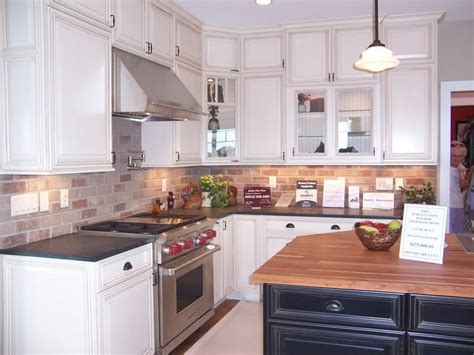 brick backsplashes for kitchens brick backsplash kitchen