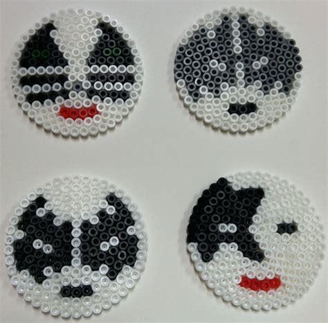 perler bead coasters by thewiredslain on deviantart