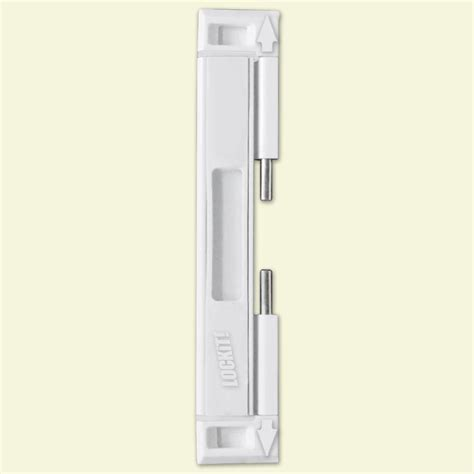 lockit bolt sliding glass door black white lock