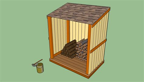 build  simple wood shed howtospecialist