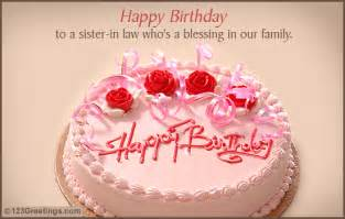 happy b day sis in free extended family ecards greeting cards 123 greetings