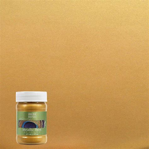 home depot paint colors gold modern masters 6 oz iridescent gold metallic interior
