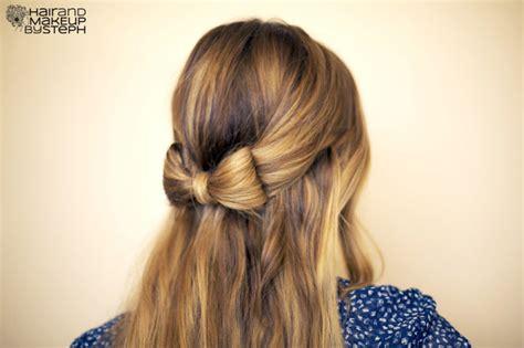 diy ribbon hairstyles fashionloly diy tutorial ribbon hair styles for a