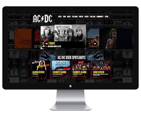div website acdc drupal website div