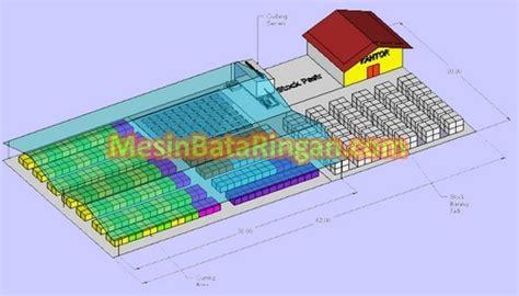 layout pabrik pengecoran hamsa makmur jaya ulasan ringkas teknologi bata ringan
