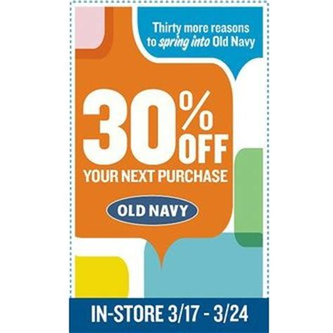 How Much Is On My Old Navy Gift Card - old navy coupon 30 percent off entire in store purchase march 17 24 vonbeau com