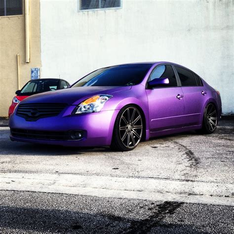purple nissan altima 4th gen wheel and tire picture thread see 1st post for