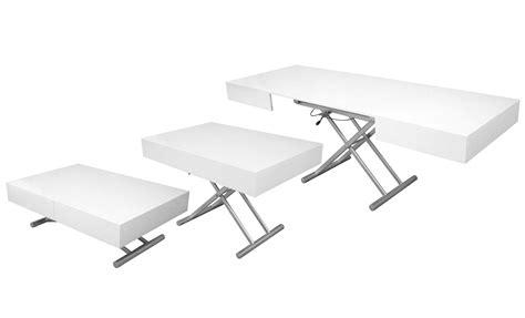 table de salon extensible 1759 deco in table basse relevable extensible blanc
